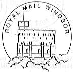 Postmark showing Windsor Castle.